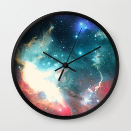 Echoes of the Stars Wall Clock