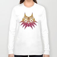 majora Long Sleeve T-shirts featuring Majora Victoriana by 6amcrisis