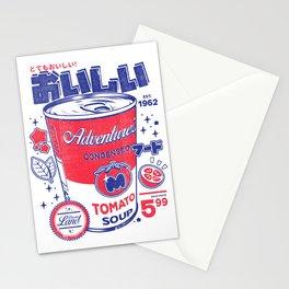 Tomato soup Stationery Cards