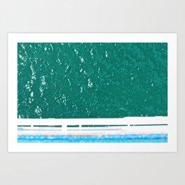 Overboard Art Print