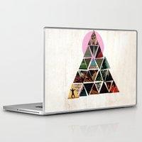 pyramid Laptop & iPad Skins featuring PYRAMID by dara dean