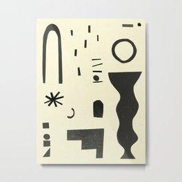Abstract-d Metal Print