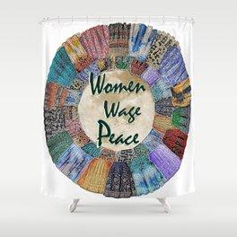 Women Wage Peace Shower Curtain