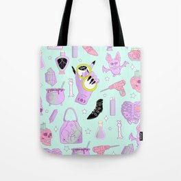 Witchy Pastel Goth: My Favorite Things Tote Bag