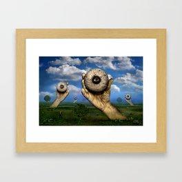 The observation Framed Art Print