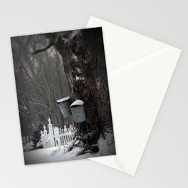 Sugaring 1 - Maple Syrup Stationery Cards