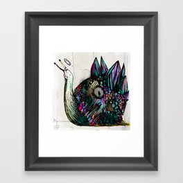 Caracolo elegante Framed Art Print