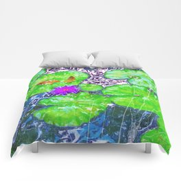 Lily Pond Comforters