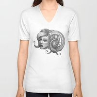 ram V-neck T-shirts featuring Ram by Tooth & Arrow Co