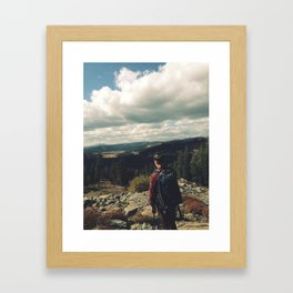 The Road is Long Framed Art Print