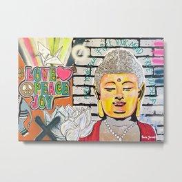 Good Karma Buddha Metal Print