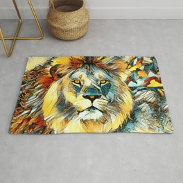 AnimalArt_Lion_20170603_by_JAMColorsSpecial Rug