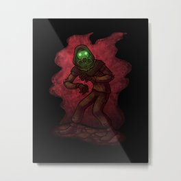 Ghost Seeker Metal Print