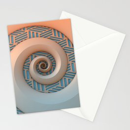 Miami Spiral Stationery Cards