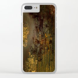 Swollen Years of Time Clear iPhone Case