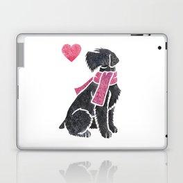 Watercolour Giant Schnauzer Laptop & iPad Skin