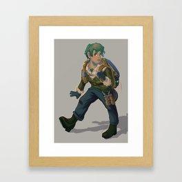 Scout Astor Hummel Framed Art Print