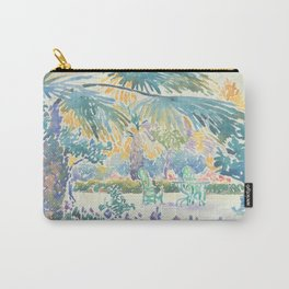 Garden of the Painter at Saint Clair by Henri-Edmond Cross 1908, French Carry-All Pouch