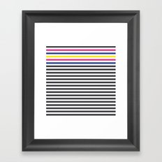 Stripes Framed Art Print