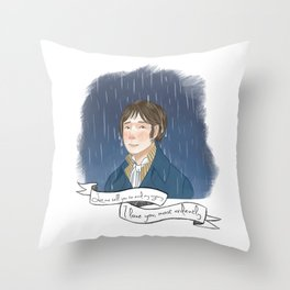 I love you, most ardently. Throw Pillow