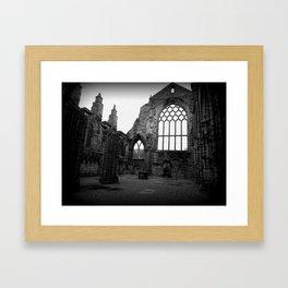 Holyrood Abbey Framed Art Print