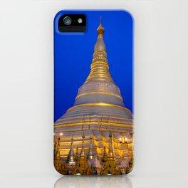 Shwedagon Pagoda, Yangoon Myanmar iPhone Case