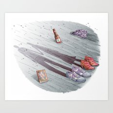Enjoy it while you can. Art Print