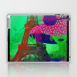 Mademoiselle Paris Laptop & iPad Skin