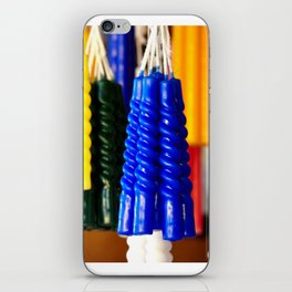 the colors of hope in candles iPhone Skin