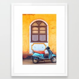 Travel photography made in India. Framed Art Print