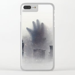 The Unwanted Thing in the Fog Clear iPhone Case