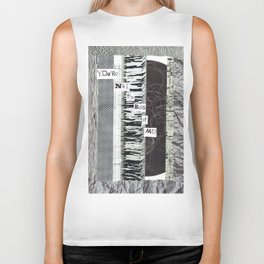 Collage - You're Not the Boss of Me Biker Tank
