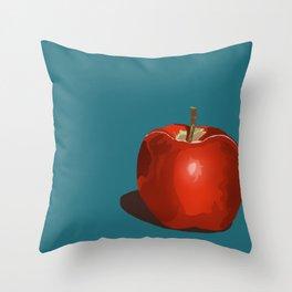 An Apple a Day... Throw Pillow