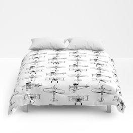 Biplanes Comforters