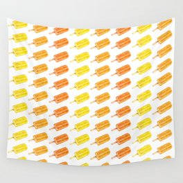 Colorful Popsicles - Summer Pattern Wall Tapestry