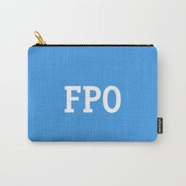 For Placement Only - FPO - Artwork (Dropbox Blue) Carry-All Pouch