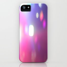 Concert Lights iPhone Case