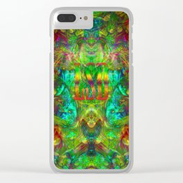 Psychedelic LSD Clear iPhone Case