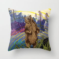 ursidae Throw Pillow