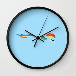 Rainbow Dash 2 Wall Clock