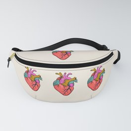 FOLLOW YOUR HEART - tatoo artwork Fanny Pack