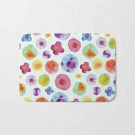 Flower Drops Bath Mat
