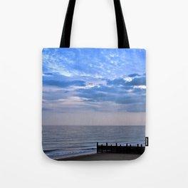 Walcott seafront Norfolk Tote Bag