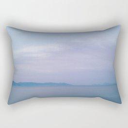 Sea before sunrise Rectangular Pillow