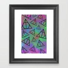 Deathly Hallows  Framed Art Print