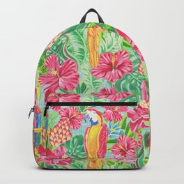 Land Of The Giant Hibiscus Backpack