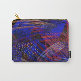 Abstract blue background Carry-All Pouch