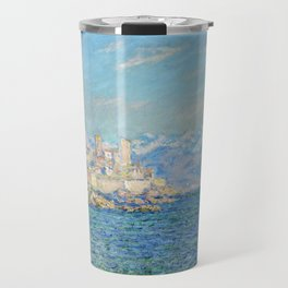 Claude Monet - Antibes, Afternoon Effect Travel Mug