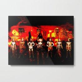 Bad Mojo Metal Print
