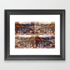 Burn Four Framed Art Print